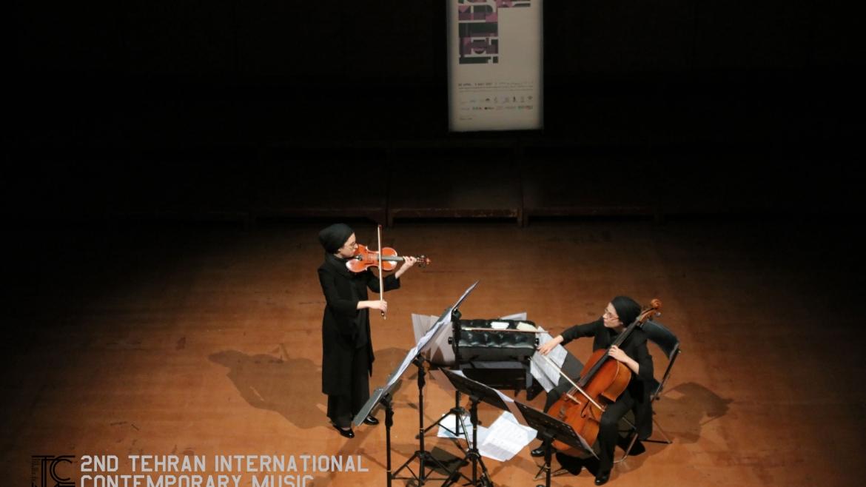 اجرای خواهران زربخش در دومین فستیوال بینالمللی موسیقی معاصر تهران