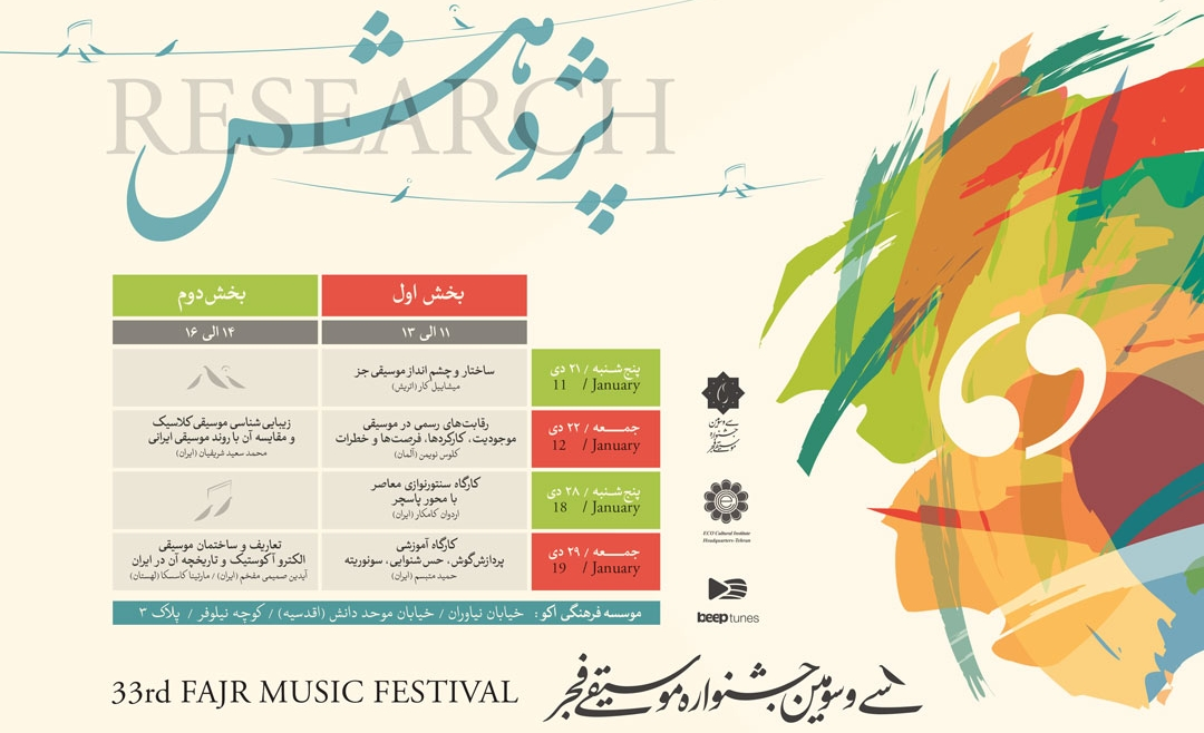 تعاریف موسیقی الکتروآکوستیک در بخش پژوهش جشنواره موسیقی فجر